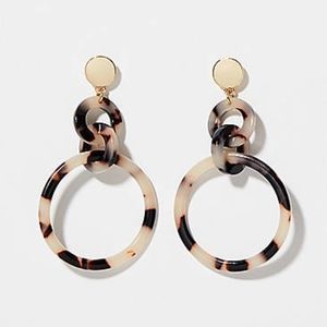 New Ann Taylor Loft Interlocking Earrings